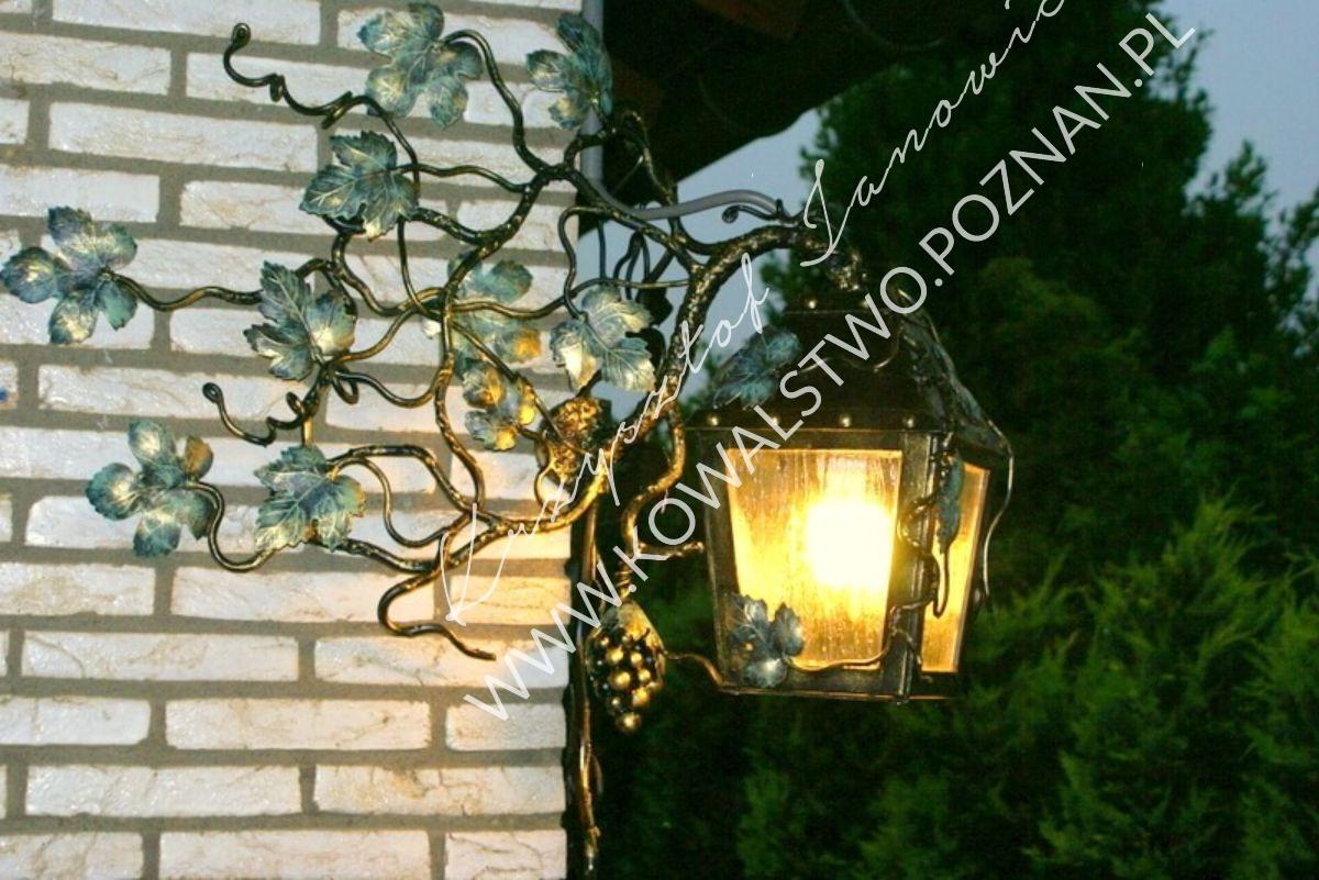 Lampa ogrodowa kuta