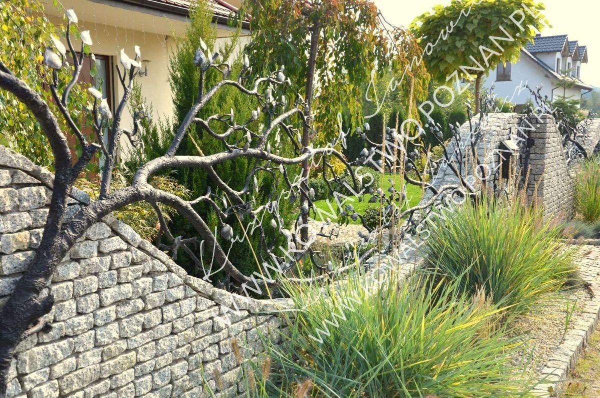 Przęsła ogrodzeniowe kowalstwo artystyczne